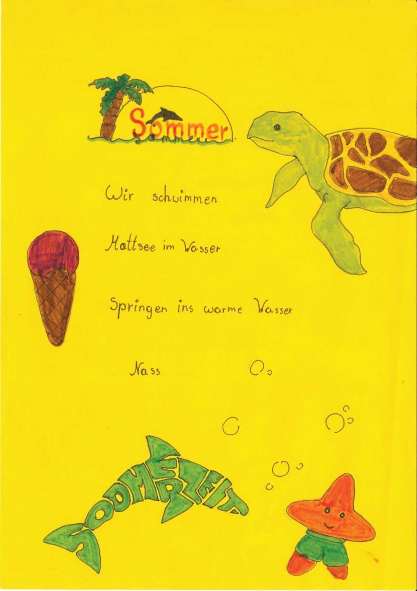 Gedichte zum Thema Sommer1